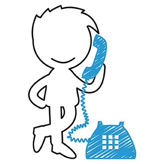 Mann am Telefon 1
