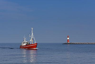Schiff Leuchtturm Start 1
